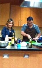 Chef Matt Steigerwald and Great Taste's Kathy DuBois