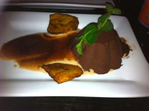 chocolate chile mousse-Chilam Balam