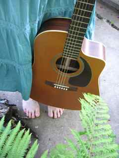 Guitar and Toes