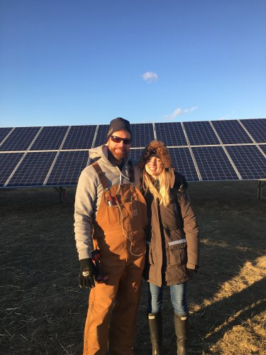 Ideal Energy co-owners Troy & Amy Van Beek