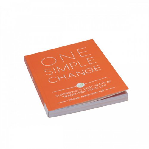 One Simple Change Book Cover