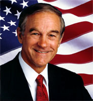 Texas Congressman Dr. Ron Paul
